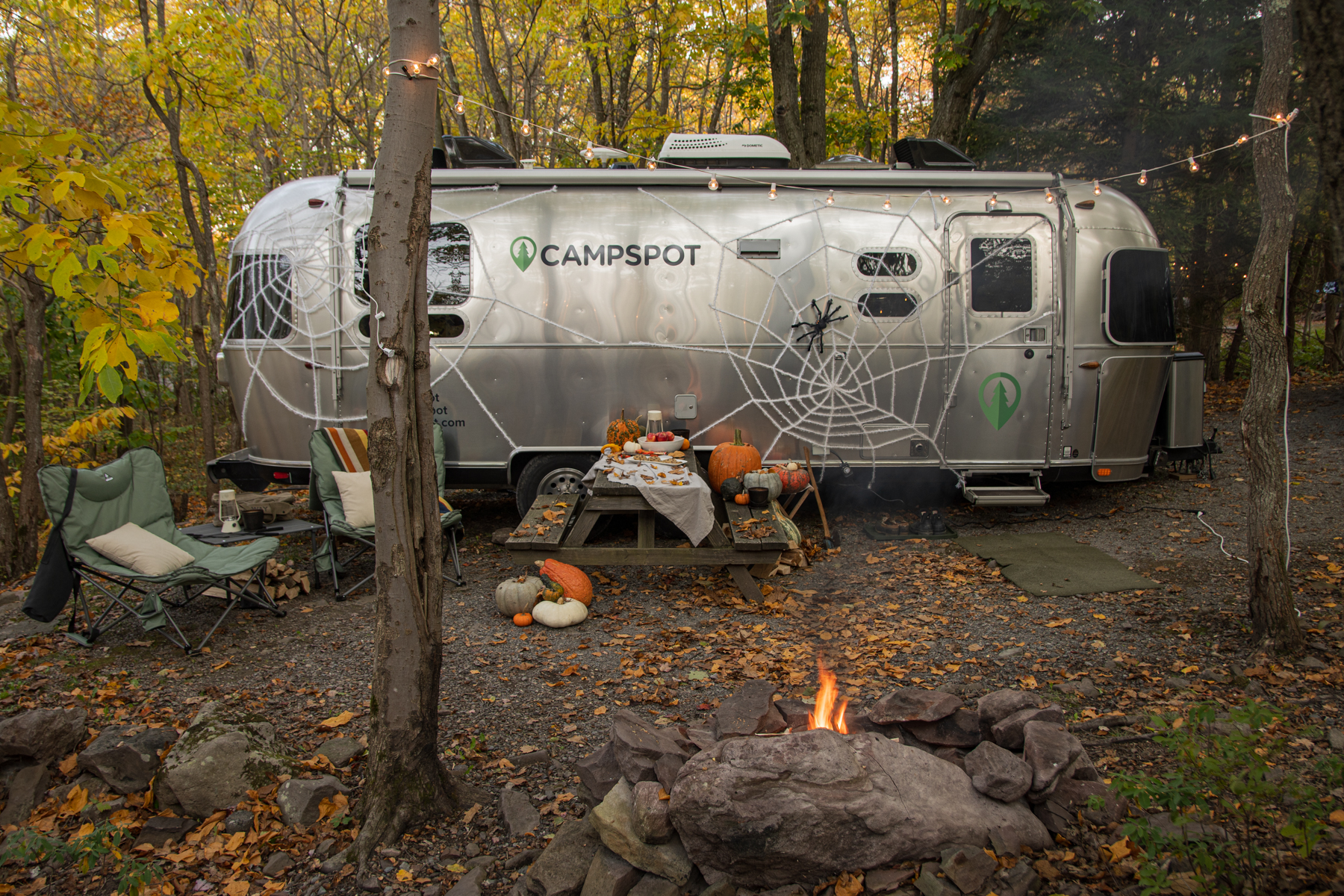 Decorating Your Campspot for Halloween