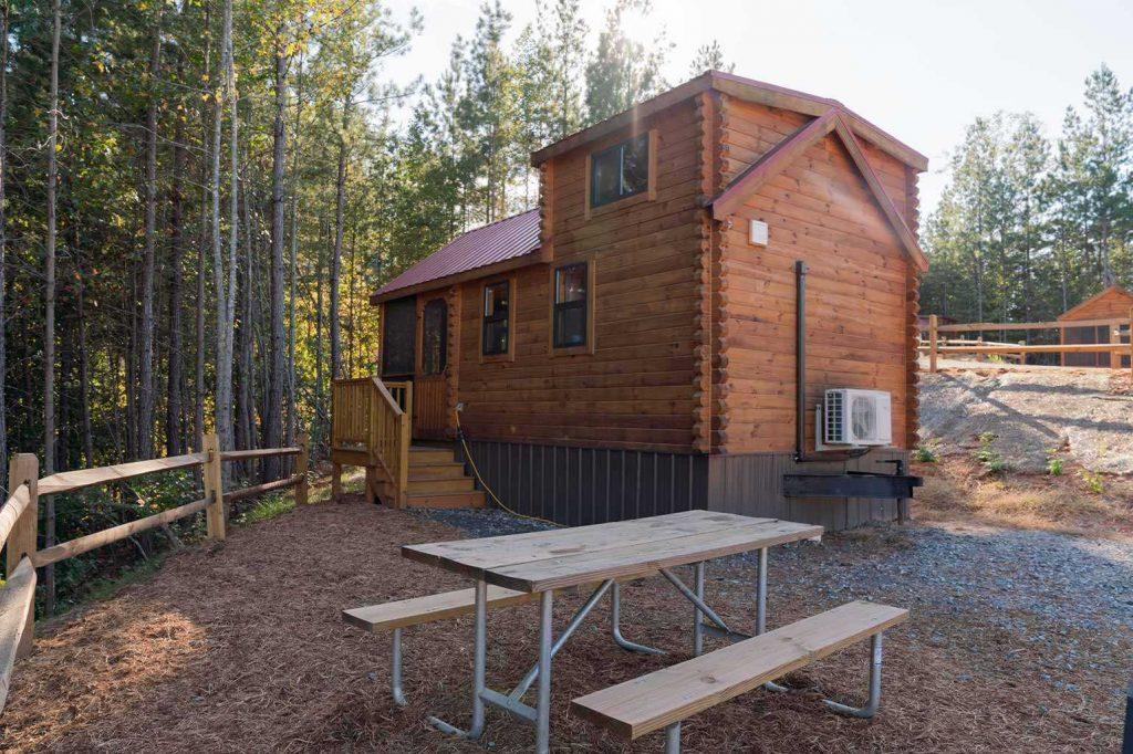 Golden Valley cabins