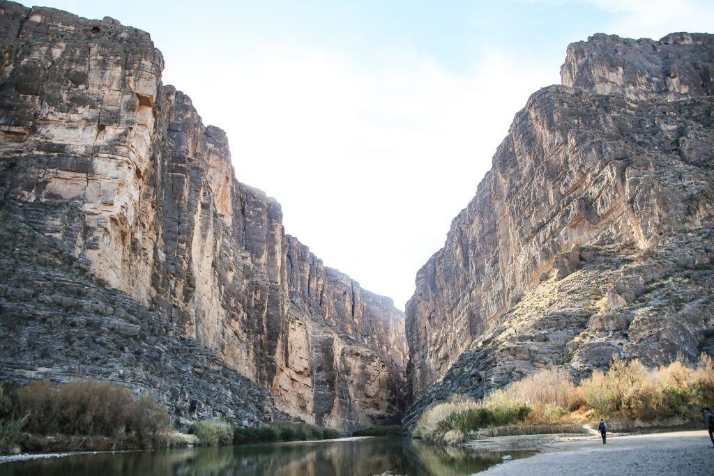 Canyon in Bend Bend National Park in Texas.