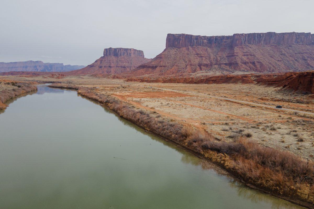 The Colorado River near Castle Valley, Utah.
