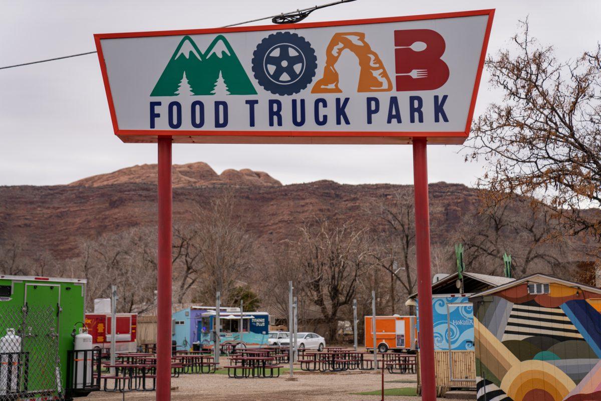 The Moab Food Truck Park in Moab, Utah.