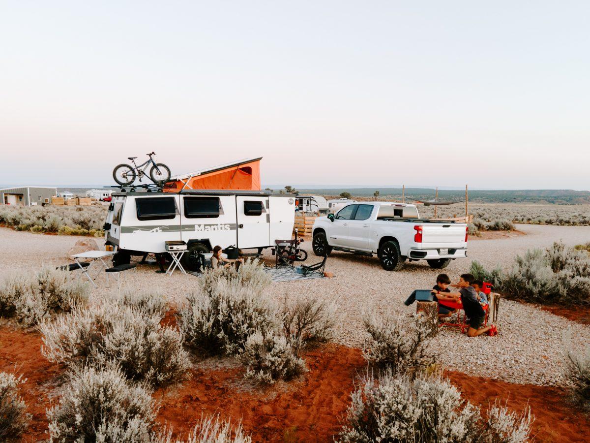 RV camping at Dark Sky Park