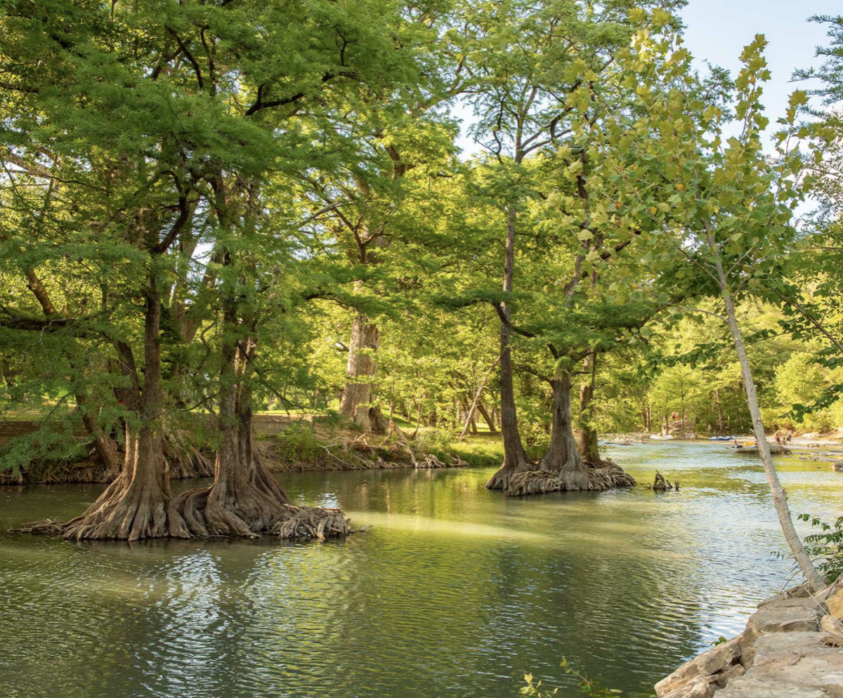 Guadalupe River at Camp Fimfo in Texas