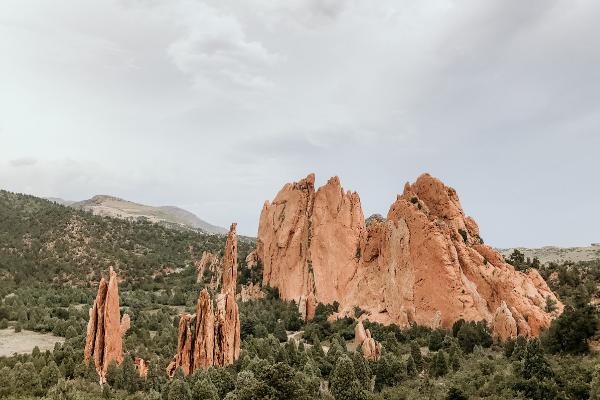 Gardens of the Gods in Colorado Springs, CO