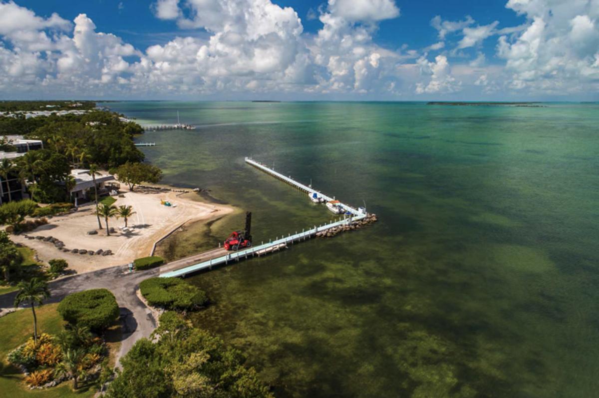 Riptide RV Resort & Marina in Key Largo, Florida.