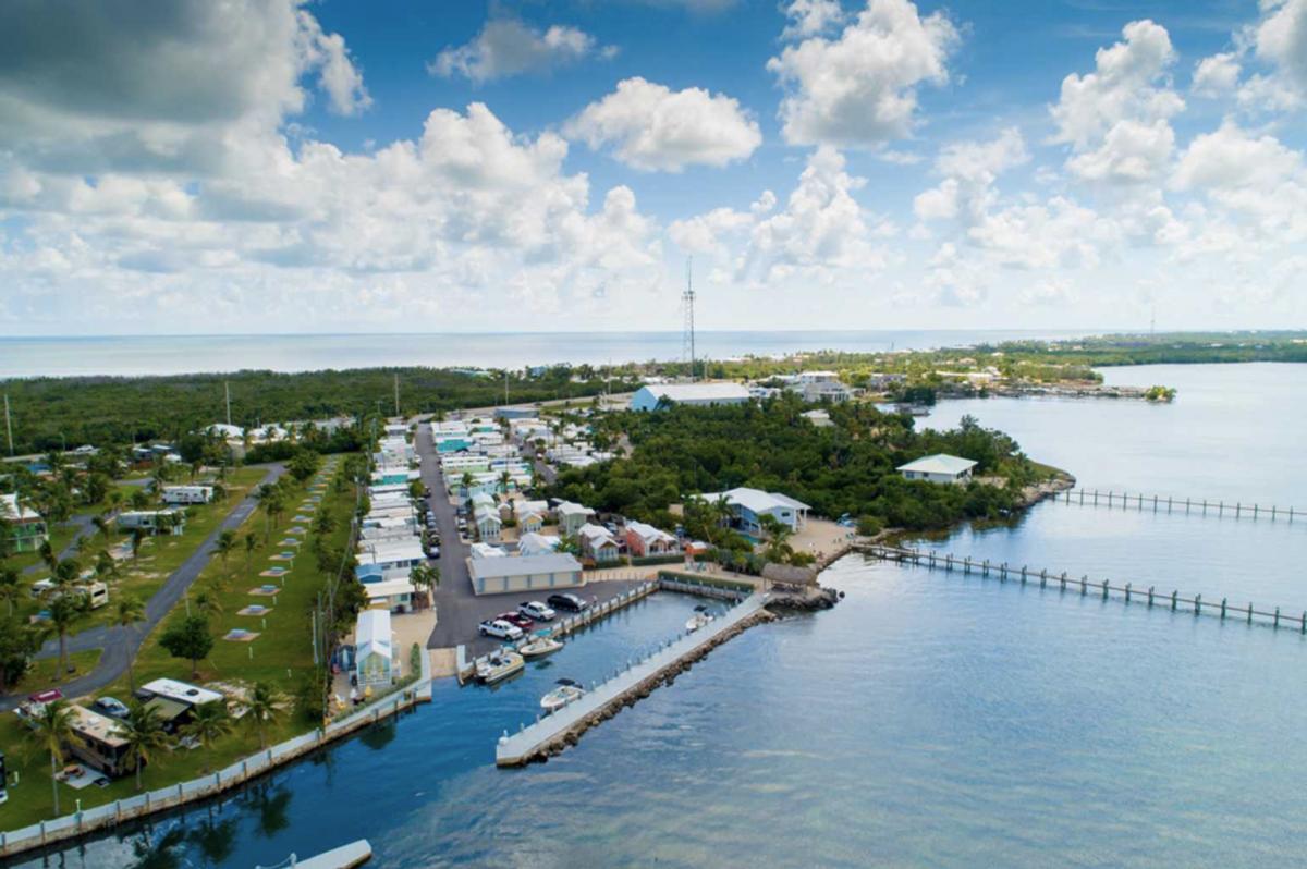 Pelican RV Resort & Marina in the Florida Keys.