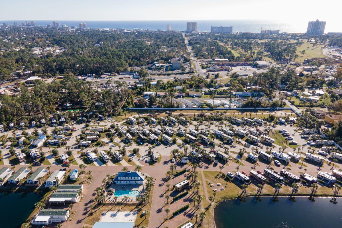 Emerald Coast RV Resort in Panama City Beach, Florida