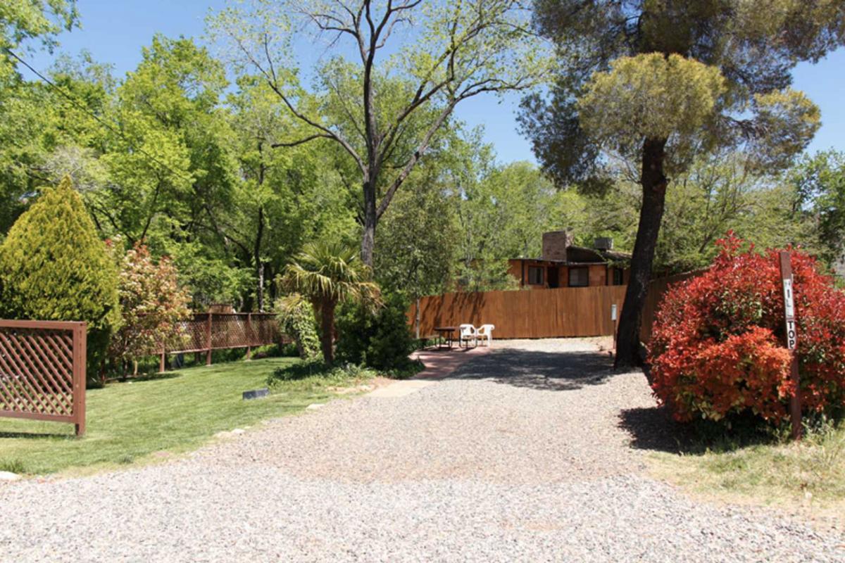 An RV site at Rancho Sedona RV Park in Sedona, AZ.
